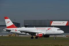 LOWW - Vienna (VIE) - Austrian Airlines - Airbus A319-112 OE-LDA - Flight OS452 from London (LHR)