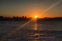 Gijon sunset (semeyesjosil) Tags: iphone7plus spain asturias playa beach sunset gijon