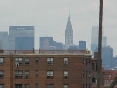 P1010327 Chrysler building from Brooklyn bridge (oberondilettante) Tags: newyork brooklyn bridge pont gratteciel skyscraper chrysler