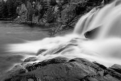 High Falls - 0995 (RG Rutkay) Tags: bracebridge highfalls autumn landscape leaves river trees waterfallls motion longexposure muskoka silky water