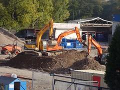 Sixth Form, Grange Road, Cwmbran 22 October 2018 (Cold War Warrior) Tags: plant school cwmbran work
