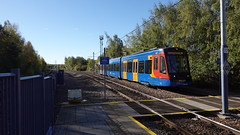 18i695_Carbrook (Felixjaz) Tags: carbrook supertram 2018 399203 2a38 class399 tramtrain tram stagecoach