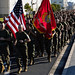 U.S. Marines and Sailors with MAG 12 conduct a Marine Corps birthday run at MCAS Iwakuni, Japan
