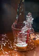 Mini measure and water (alisonsage1) Tags: macromondays measurement macro water glass