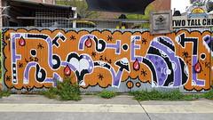 Feebl... (colourourcity) Tags: streetartaustralia streetart streetartnow graffiti melbourne burncity awesome letters burner notforlikes colourourcitymelbourne colourourcity original feebl ps13