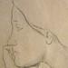 DEGAS Edgar,1860-62 - Sémiramis construisant Babylone, Etude (Louvre RF15526) - Detail 17