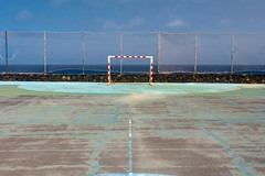 Memories / Recuerdos (López Pablo) Tags: courtyard goal sky blue green nikon d7200 lacaleta elhierror canary islands spain