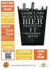Flyer Gorcums Winter Bier Festival 2018 (Barry van Baalen) Tags: flyer gorcum gorinchem gorkum bier beer dukes bierbrouwerij 2018 bierfestival festival
