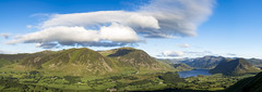 Clouds over Grassmoor (D A Clapperton) Tags: uk lake district panorama mouintains landscape