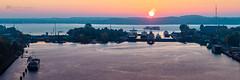 Kiel Locks - Holtenau (__db_) Tags: herbst holtenau kaiserwilhelmkanal kiel kielcanal nok nordosteekanal schleuse sonnenaufgang autumn fall firstlight sunrise sunup panorama