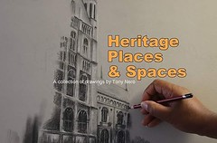 #realnews my #solo #exhibition #HeritagePLacesNSpaces is on at the #NormanCrossGallery #Peterborough until 27th October #drawings #pastels #pencils #charcoal #artist #markmaking (Tony Nero) Tags: artoftonynero tony nero art peterorough cambridgeshire creative out about craft paintings