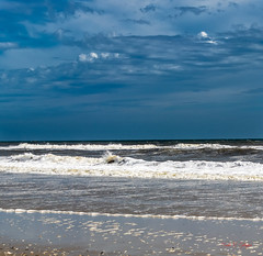 Clouds & Waves (Donald.Gallagher) Tags: atlantic beach clouds contrast corolla corollavillage crop horizontal nc nature northamerica northcarolina obx ocean outerbanks outerbanx public sharpening sky summer typecolor typelightroom typeportrait typeshutterbuttonfocus typewideangle usa waves