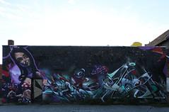 Mural painted by artists Sofles, Does & Chas (Rick & Bart) Tags: hasselt belgium limburg streetart art sofles does chas rickvink rickbart graffiti canon eos70d mural city urban