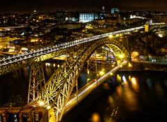 Porto - Ponte de D. Luis I (JustJan) Tags: exif:focallength=22mm geocountry exif:make=nikoncorporation exif:isospeed=160 geostate camera:model=nikond850 geocity exif:model=nikond850 exif:aperture=ƒ22 exif:lens=160350mmf40 camera:make=nikoncorporation porto portugal nightshot building light floodlights nikon bridge pontededluisi river house douro le
