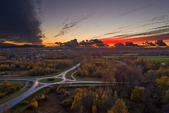 DJI_0843-HDR-L (Tanel Kindsigo) Tags: estonia hdr mavic2pro tartucounty tartumaa aerial aerophoto autumn dronephoto landscape outdoor road sky sunset trees