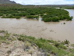 Grand Rio Grande (DanLynnG) Tags: rio grande mexico big bend national park texas flood