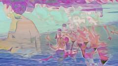 Bildschichten am Strand 16 (wos---art) Tags: bildschichten ostsee strand akt baden schwimmen frauenakt sommer frühling herbst winter nude nackt badende ohne unbekleidet