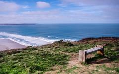 A fine place to rest (joshdgeorge7) Tags: rest sea cornwall cornish bench walk walking coast path pentax ks2 october autumn south ocean