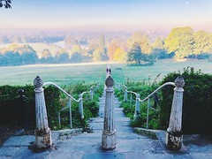 Richmond Hill (heathernewman) Tags: green petersham morning reflection water trees travel england uk britain autumncolour landscape sunshine squirrel river richmonduponthames london riverthames thames richmond