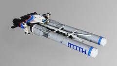MOTH - Front (Oscar Cederwall (o0ger)) Tags: lego moc ship shiptember2018 moth racer