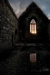 Sunrise at the old Friary (mickreynolds) Tags: burrishoole ireland nx500 newport wildatlanticway sunrise