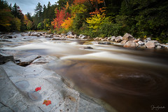 Swift River Eddy (capers66) Tags: swiftriver newengland newhampshire fall autumn whitemountains nh rockygorge kancamagus rocky water flow longexposure canon5dmarkiv river