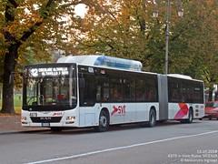 MAN A40 Lion's City GL CNG | SVT 4375 (AlebusITALIA) Tags: autobus bus tram trasportipubblici trasporti tpl transportation torpedone publictransport mobilità aimmobilità aimvicenza vicenza vehicle veicolo autobuses otobus corriera coach pullman svtvicenza ftv ferrovietramvievicentine manlionscity gelenkbus autosnodato bendybus articulatedbus busarticolato busarticulado busarticulé manbus cngbus busametano erdgasbus gncbus