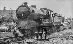 506. @ the GCR. (Alan Burkwood) Tags: gcr loughborough 1984 robinson d11 506 butlerhenderson steam locomotive