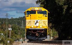 NS 995 Starkey Low Nose (HeritageNY) Tags: sd70acc ns pumpkin vine coal train emd