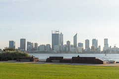 Morning skyline (Mister Rad) Tags: nikond600 nikon50mmf14g perth westernaustralia city skyline swanriver