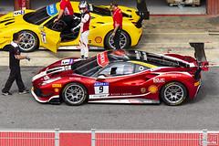 Ferrari Challenge 001 (Escursso) Tags: 9 670cv challenge circuit circuitbarcelona ferrari ferrari488challenge gt granturismo pirelli shell motor racing