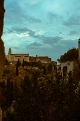 After Rain. (michele.tedesco) Tags: gravinainpuglia gravina canyon puglia apuglia sunsert nature landscape openair panorama colours wildlife wild old oldpics stones trees weareinpuglia sony sonyrx100m3 sonyrx100 sonyphotography cattedraledigravina cathedral