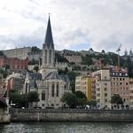 Vue de l'Eglise Saint-Georges depuis le Quai Tilsit thumbnail