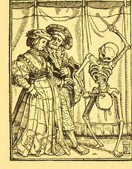 This image is taken from Page 83 of Der Todtentanz von H. Holbein, nach dem Exemplare der ersten Ausgabe im Kgl. Kupferstich-Cabinet zu Berlin in Lichtdruck nachgebildet (Medical Heritage Library, Inc.) Tags: dance death rcplondon ukmhl medicalheritagelibrary europeanlibraries date1879 idb22651263