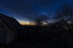 _DSC1501_ (Denarche) Tags: sonya7 tamron2470 f28 spring2018 sky village outdoor sunset exposure clouds bathhouse фотоотдинара photobydinar