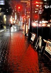 Tokyo (Meg Kamiya) Tags: olympus om1 night light colour film manual tokyo japan
