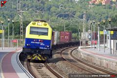 333.380 Continental per Altafulla (Bernat Borràs <trenscat.cat>) Tags: continentalrail altafulla tamarit tarragona teco corredor mediterrani mercaderies mercancias