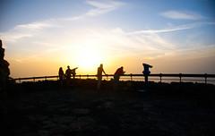 01-09-2018___DSC3158.jpg (Lea Ruiz Donoso) Tags: miradordelrío lanzarote islascanarias acantilado montaña mar roca cielo sol naturaleza mirador chinijo riscodefamara islalagraciosa sunset