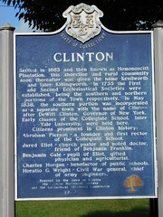 Clinton Historic Marker (jimmywayne) Tags: clinton middlesexcounty connecticut historic marker
