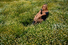 Kailey (austinspace) Tags: woman portrait spokane palouse steptoe butte blond blonde camomile farm summer smoke badair