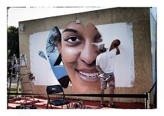Travail d'artiste (Jean-Louis DUMAS) Tags: bordeaux artdelarue artiste artistic art streetart