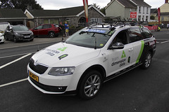 Team Dimension Data support car (Beximus) Tags: carmarthenshire tourofbritain 2018 cycling chris froome geraint thomas teamsky carmarthen wales uci