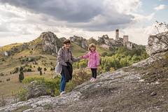_DSF0923-2 (Kornelka, Natalka oraz Wiktor) Tags: olsztyn zamek olsztynie juromania 2018 castle