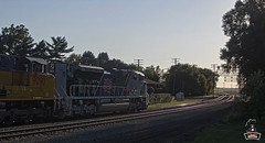 UP 1943 Heading Home (Trains By Perry) Tags: unionpacific up 1943 sd70ah emd veteransunit rochelleil webcam