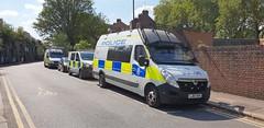 British Transport Police Vehicles (standhisround) Tags: police emergency vehicle car london uk vehicles van vauxhall mercedes britishtransportpolice btp waterloo lambeth carlislelane battenberg road 999