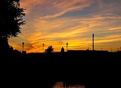 Sunset  Silhouttes (Hedgeman2006) Tags: sunset sky dusk twilight beeston nottingham ng9 nottinghamshire night rivertrent water