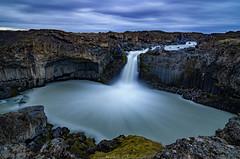 Aldeyjarfoss (_Amritash_) Tags: 65°21′576″n17°20′528″w aldeyjarfoss highlands icelandichighlands waterfall longexposure longexposurejunkie river skjálfandafljót rocks clouds