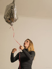 Send up a trial balloon. (Alex-de-Haas) Tags: 50mm d5 dutch holly nederlands nikkor nikon casting female girl individual jeugd jeugdig jong meisje mensen people person persoon photoshoot portrait portret profiel profile studio teen teenager tiener young youth youthful