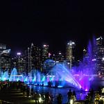 Lightshow Singapore Harbour thumbnail