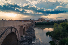 A way (Mariano Colombotto) Tags: cordoba andalucia andalusia spain españa bridge cathedral church arquitectura architecture nikon travel river water sunset atardecer sky clouds cloudy tones colours ngc mosque